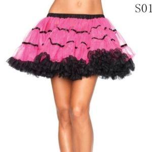Dresses & Skirts - Pink / Black Layered Petticoat